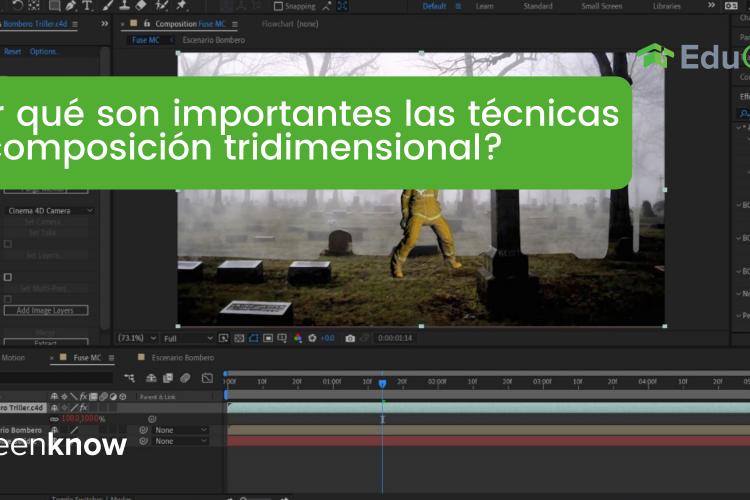 Curso Técnicas de Composición 3D- Curso Adobe